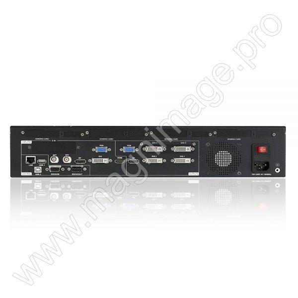 Видеопроцессор для LED светодиодного экрана Magnimage LED-570ES вид сзади 2