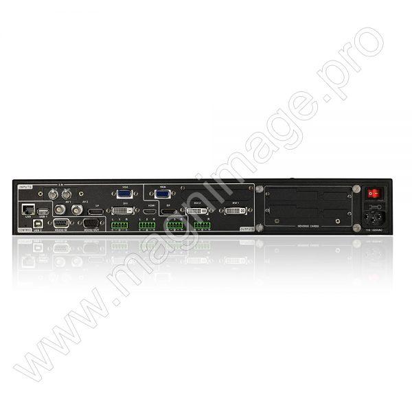 Видеопроцессор для LED светодиодного экрана Magnimage LED-582FS вид сзади