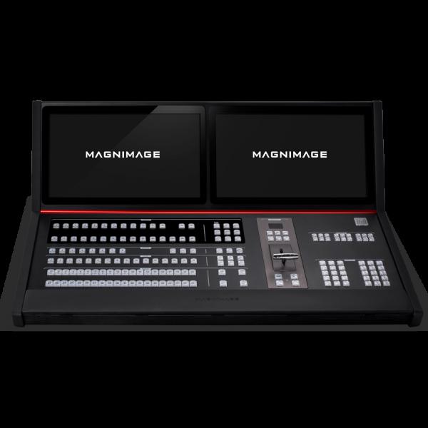 Консоль для управления свитчером Magnimage MIG-H8 передняя панель