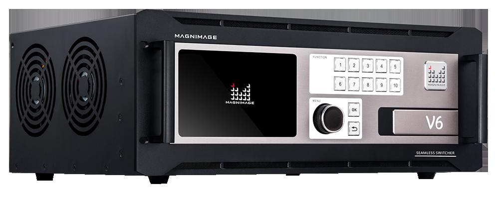 Видеосвитчер для LED светодиодных экранов и видеостен Magnimage MIG-V6 Основной вид