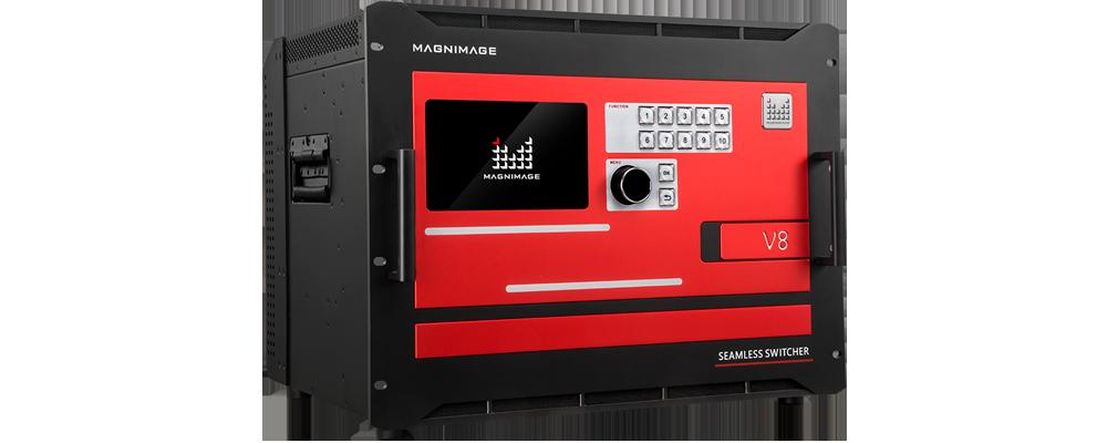 Видеосвитчер для LED светодиодных экранов и видеостен Magnimage MIG-V8 Основной вид