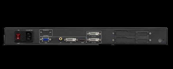 Видеопроцессор для LED светодиодного экрана Magnimage LED-500B PRO задняя часть input / output
