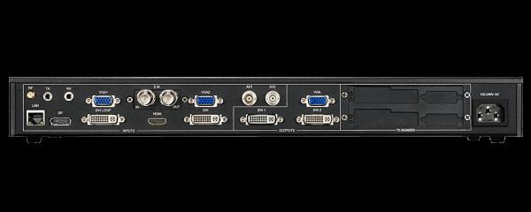Видеопроцессор для LED светодиодного экрана Magnimage LED-550DS задняя часть порты input / output