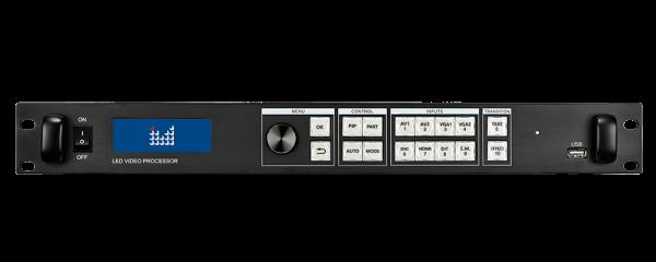 Видеопроцессор для LED светодиодного экрана Magnimage LED-550DS Вид спереди